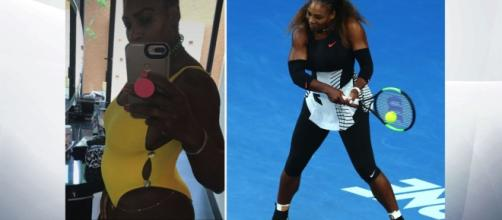 Serena Williams Snapchat pregnancy reveal was an accident - sky.com