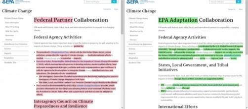 The EPA Has Started to Remove Obama-era Information | Climate Central / Photo by climatecentral.org via Blasting News library