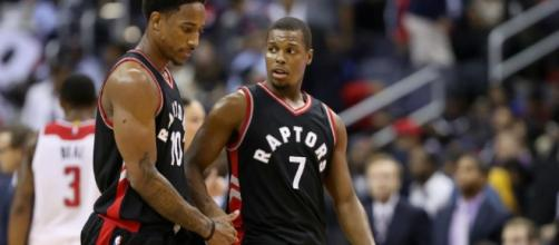 The Toronto Raptors try to close out their series with the Bucks on Thursday. [Image via Blasting News image library/inquisitr.com]