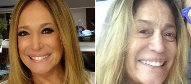 A maquiagem muda totalmente o visual de uma mulher