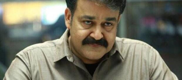 A still of Mohanlal from Villain movie