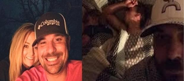Homem chega em casa, e pega sua namorada dormindo com outro