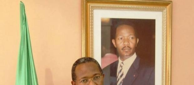 Le président du MPCC Jean Blaise Gwet