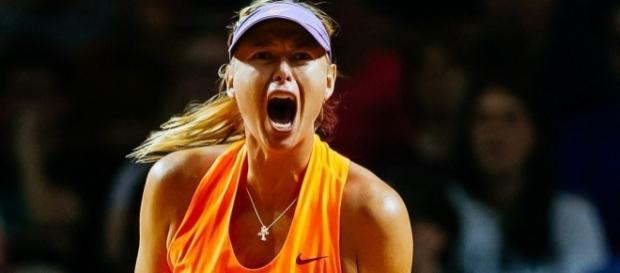 Maria Sharapova shrieks her way to winning return | Daily Mail Online - dailymail.co.uk