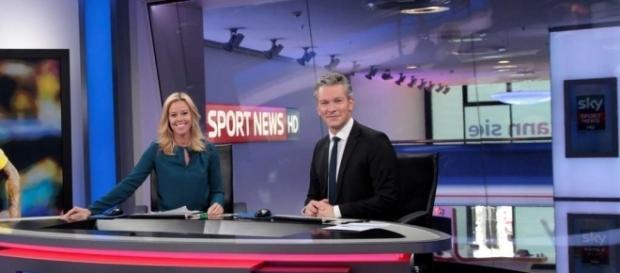 Silke Beickert und Noah Pudelko bei Sky Sport News HD / Foto: Presseportal / ots