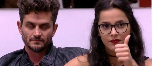 Marcos ainda descartou qualquer chance de reatar o namoro com a moça (Foto - Rede Globo)