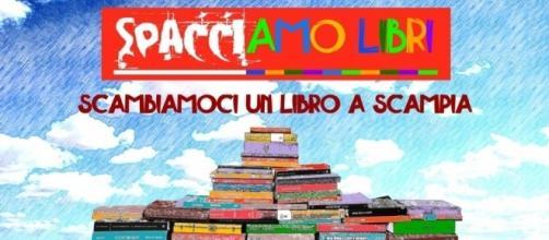 """Spacciamo libri"""", flash book mob a Scampia"""