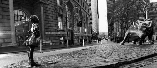 The Fearless Girl e il Toro di Wall Street
