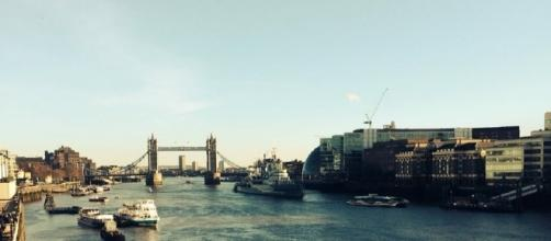 Tourist shot of Tower Bridge, central London - (photo credit - author's own)