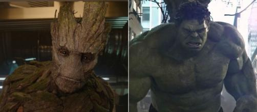 Vin Diesel proposes 'Groot' solo with fight against Hulk. / from 'Screen Crush' - screencrush.com