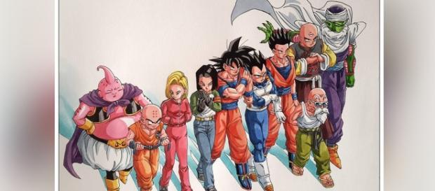 Goku, el gran capitán del equipo del séptimo universo.