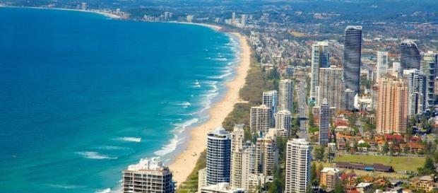Gold Coast, litoral da Austrália