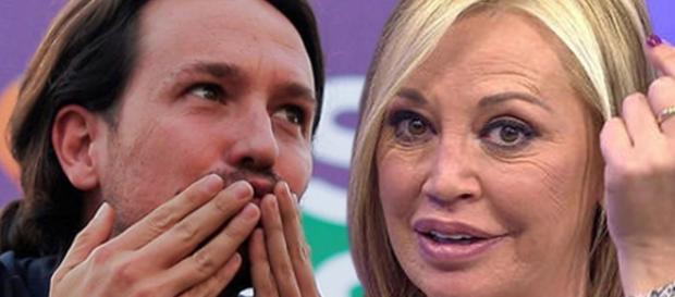 La reacción de Pablo Iglesias cuando lo comparan con Belén Esteban ... - radioset.es