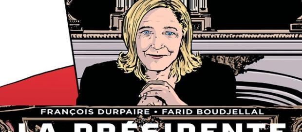 La triloogie BD de Durpaire et Boudjellal (La Présidente, Totalitaire, La Vague) prévoit Marine Le Pen élue à la faveur d'une forte abstention