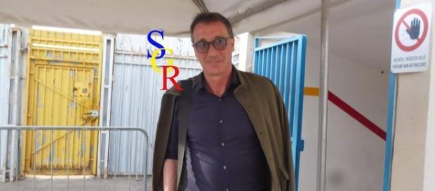 L'allenatore Rizzo, foto Salento Giallorosso.