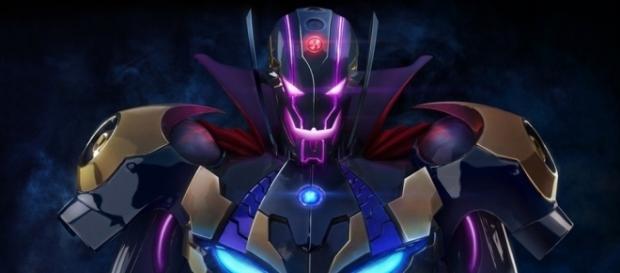 Marvel's Ultron plus Capcom's Sigma equals Ultron Sigma, main baddie of 'Marvel vs Capcom: Infinite'. | from 'HYPEBEAST' - hypebeast.com