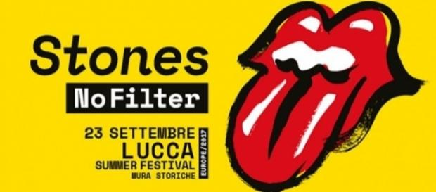 Rolling Stones a Lucca 23 settembre 2017