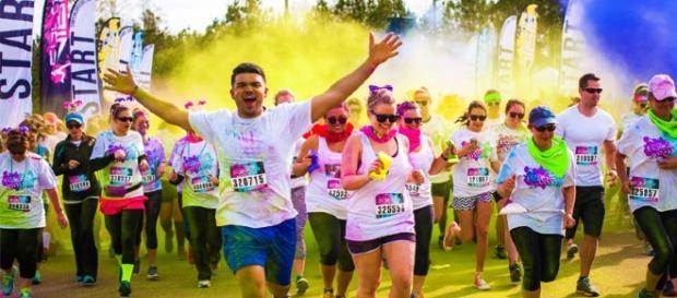 The Color Run, la course de 5K la plus colorée du monde.
