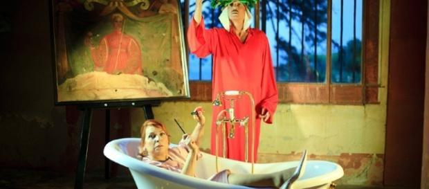 Una foto di scena della Signora Matilde