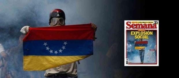 Venezuela: la calle contra el dictador - semana.com