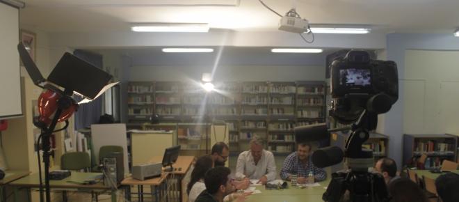 Docu-drama en el I.E.S. Huelin contra el bullying