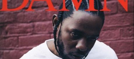 "Kendrick Lamar ""DAMN."" Album, Cover Art via cover album"