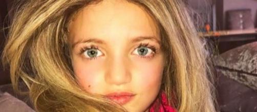 A menina se chama Princess e tem nove anos