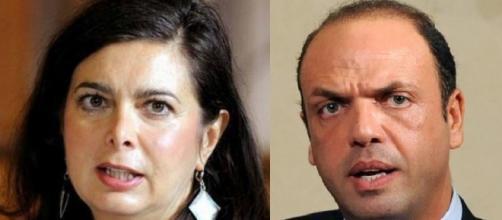 Angelino Alfano e Laura Boldrini si aggiungono alle due squadre dei favorevoli e dei contrari a Zuccaro