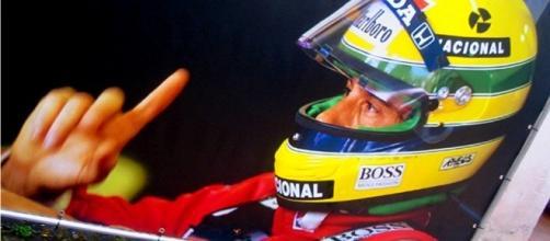 Ayrton Senna al Museo Lamborghini - Foto J.J. Adamson (Flickr)