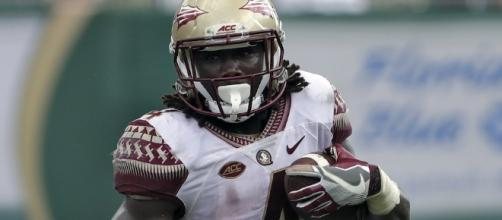 FSU running back Dalvin Cook was taken by the Vikings in the second round of the NFL Draft. [Image via Blasting News image library/inquisitr.com]