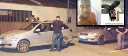 Hemerson não só abusou, como também fez um vídeo expondo o ato