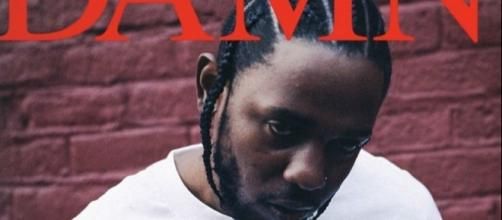 "Kendrick Lamar ""DAMN."" Album, Cover Art via cover album"