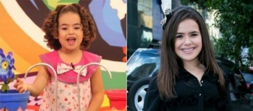 Maísa Silva no programa Bom Dia e Cia do SBT