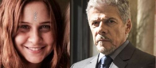 Su Tonani e José Mayer eram amantes, segundo Leo Dias. O caso extraconjugal teria sido o motivo de Su ter cancelado o processo contra o ator