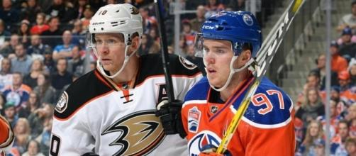 Edmonton hold a slight lead over Anaheim heading into Sunday evening (Credit: nhl.com)