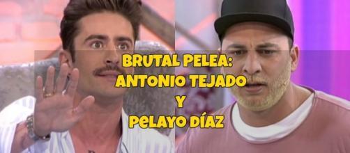 Enfrentamiento entre Antonio Tejado y Pelayo Díaz