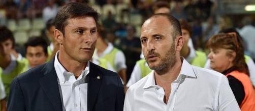 Javier Zanetti e Piero Ausilio