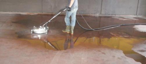 La pulizia ecologica di Idrowash.