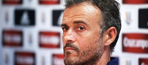 Luis Enrique, allenatore Barcellona, dovrà fare a meno in Champions League di Rafinha e non solo