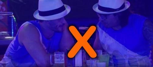 Marcos e Ilmar foram o décimo paredão do Big Brother Brasil 17
