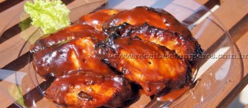 Receita de asinhas de frango ao molho barbecue - Receitas e Temperos - com.br