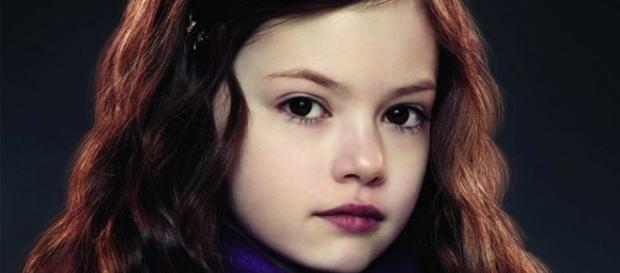 A atriz começou sua carreira ainda bem jovem