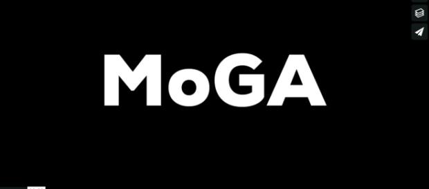 Il logo del MoGA, nuovo museo della gif art