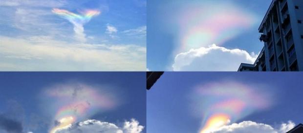 O arco-íris de fogo é um fenômeno natural raro