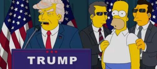 I simpson ed il presidente trump, una lunga storia. velvetgossip.it