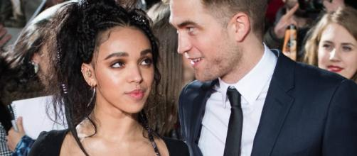 Robert Pattinson finally confirms engagement with long-time partner FKA Twigs. (Photo via E! Online)