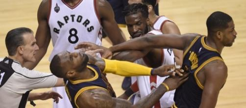 The Cavs will play the Raptors in round 2 - www.facebook.com/MJOAdmin