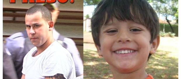 À esquerda, Guilherme Lombo, acusado de matar Joaquim (reprodução: web / montagem de fotos: Telma Myrbach)