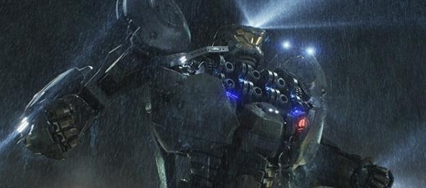 "In ""Pacific Rim,"" humans relied on Jaegers to protect the Earth from the Kaiju alien race. (via Warner Bros. Pictures)"