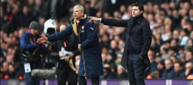 It has been a season of contrasting fortunes for Mauricio Pochettino and Arsene Wenger. (Source: beinsports.com)